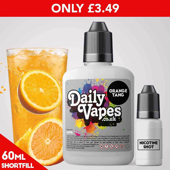 Orange Tang E-Liquid - 60ml Shortfill