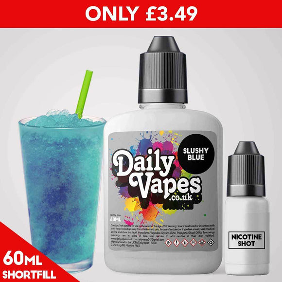 Slushy Blue E-Liquid - 60ml Shortfill