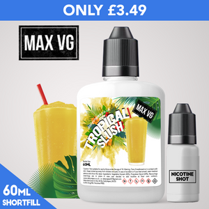 Tropical Slush Max VG Eliquid - dailyvapes.co.uk