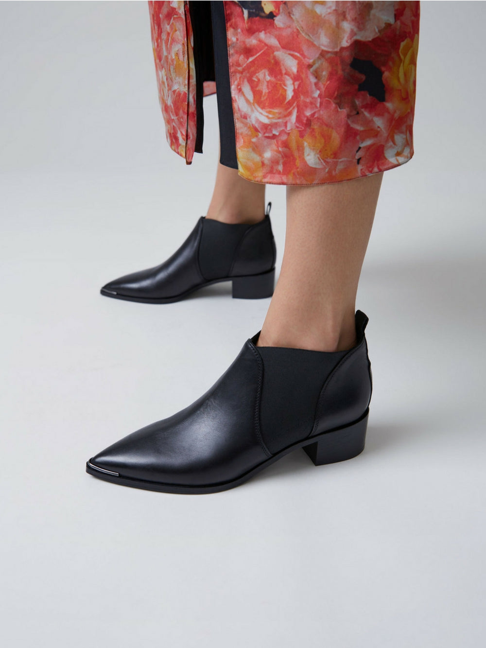 Acne Studios Jenny Leather Ankle Boots