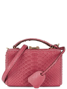 Grace Mini Python Box Bag