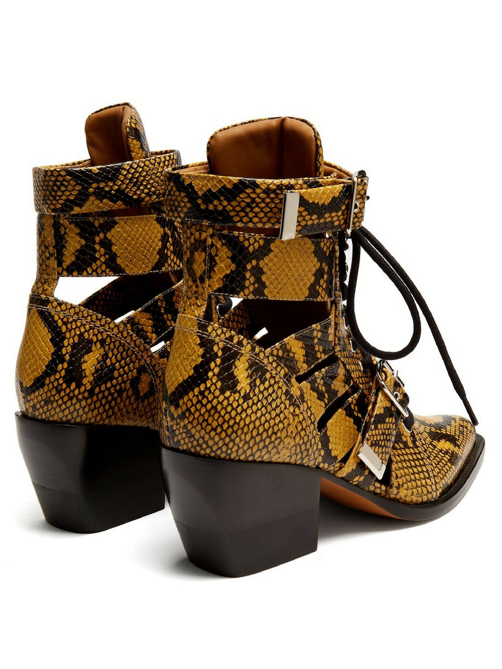 chloe-rylee-python-leather-ankle-boots