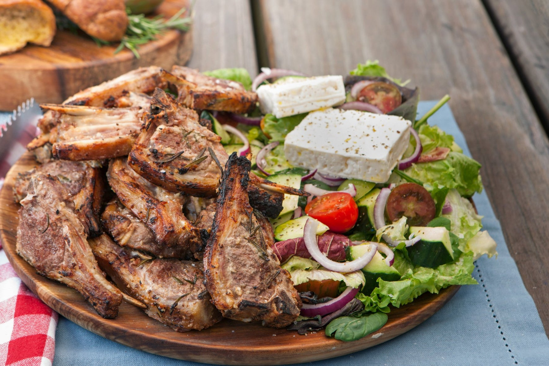 Greek Chops