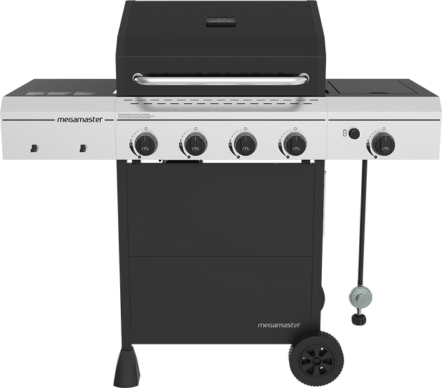 4 Burner Propane with Side Burner Gas Grill
