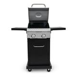2 Burner Propane Gas Grill open