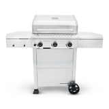 3 Burner Propane Gas Grill in Stainless Steel