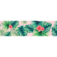 Collar PetLover - Tropical Grabado 2 rosado CHICO 29-46 cm