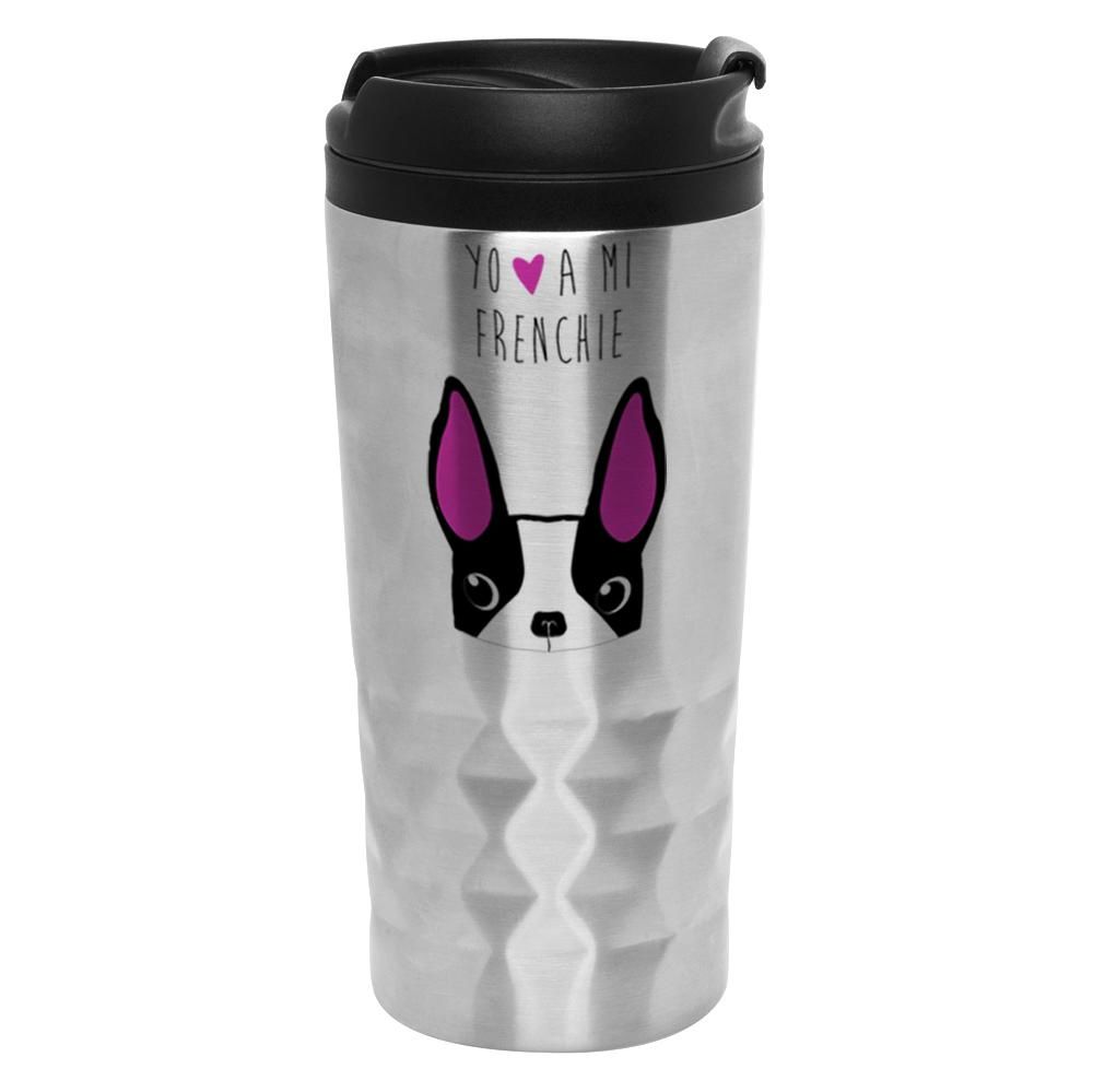 Mug Diamantado - Frenchie Face - Tienda Petfy.net