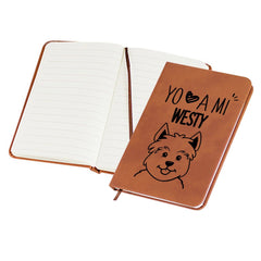 Libreta Mini Westy Tienda Petfy Mini 9x14 Cafe