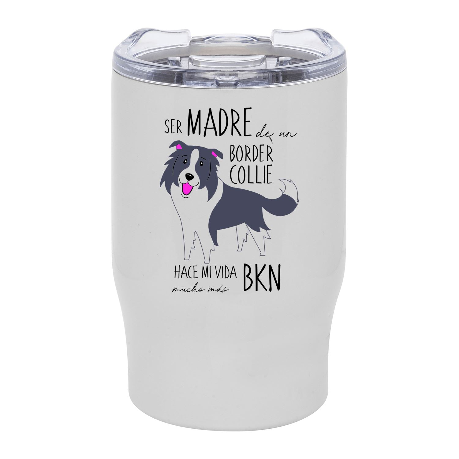 Mug Bold Blanco 350ml Border Collie Tienda Petfy