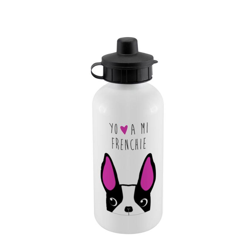 Botella Sport 500cc - Bull Dog Frances Face - Tienda Petfy.net
