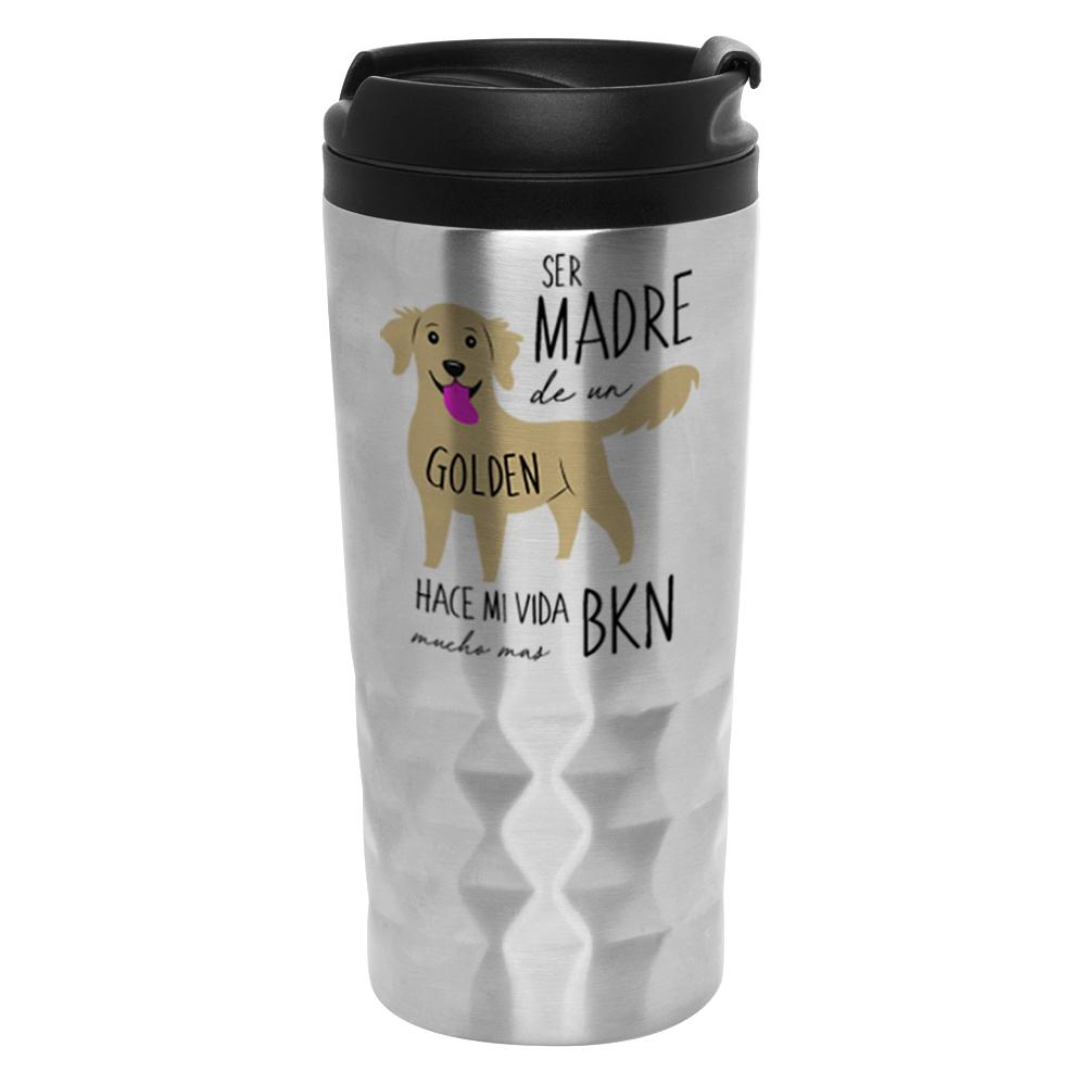 Mug Diamantado - Golden Retriever - Tienda Petfy.net