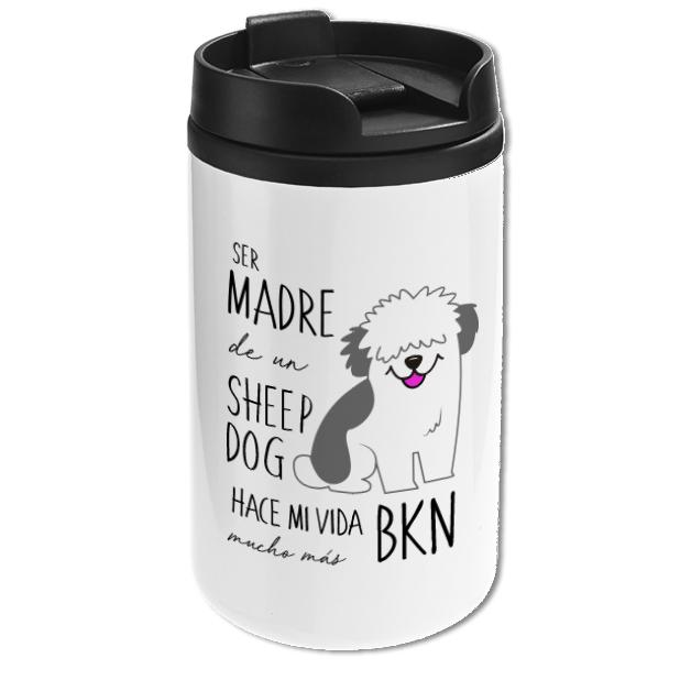Mug Mini Blanco - Sheep Dog - Tienda Petfy.net