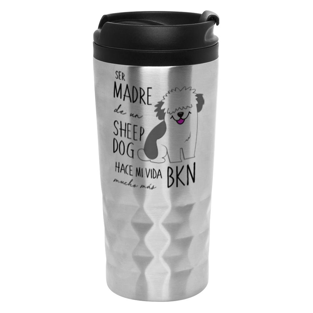 Mug Diamantado - Sheep Dog Tienda Petfy