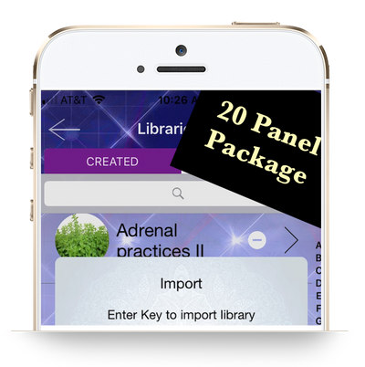 Customized Library: Genius Insight: 20 Panel Selection - INSIGHT HEALTH APPS