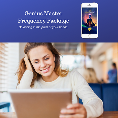 Genius Master Frequency Package - INSIGHT HEALTH APPS