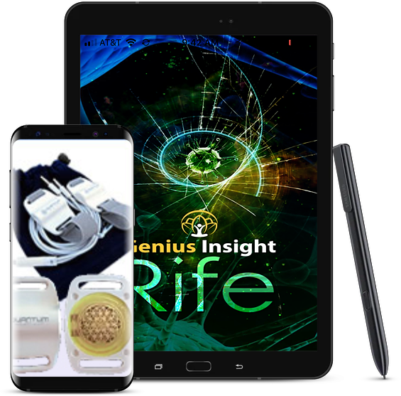 Dr. Royal Rife App & Quantum Geo M Series Harness - INSIGHT HEALTH APPS