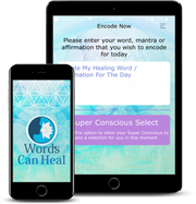 Words Can Heal App | Cosmic Healing Sounds | Affirmation | Hololinguistic - INSIGHT HEALTH APPS