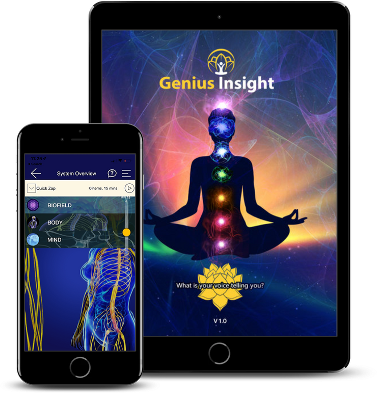 Genius Insight | Quantum Biofeedback | Biofeedback | Voice Analysis - INSIGHT HEALTH APPS