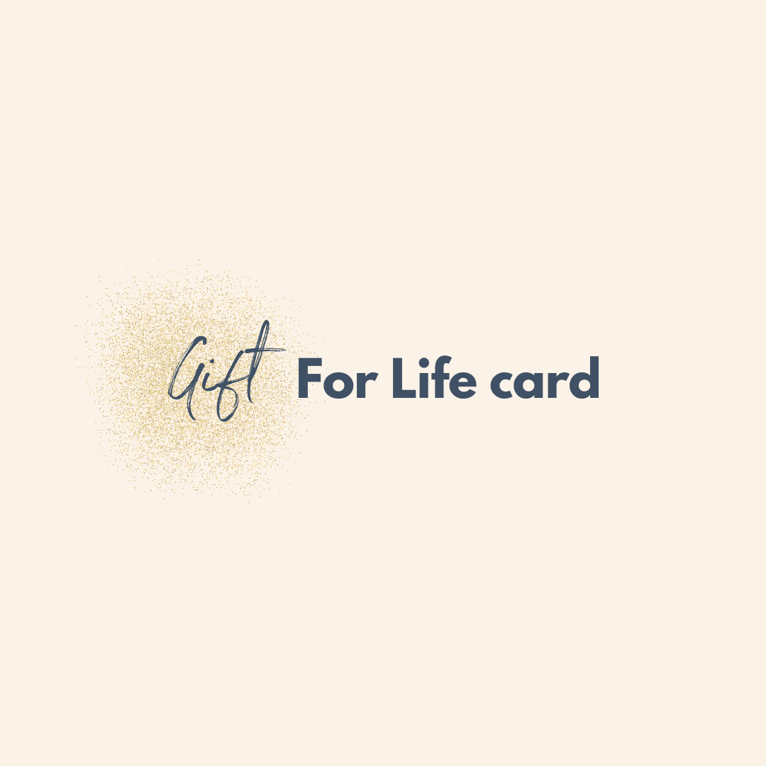 The Gift for Life Card