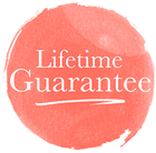 Lifetime guarantee icon