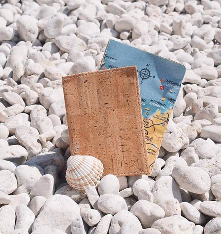 Sustainable Cork Passport Holder