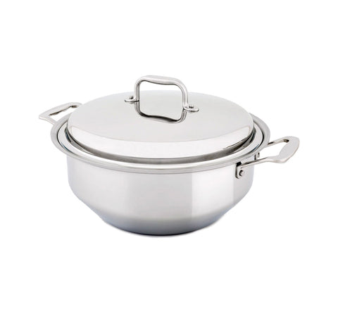 6 Quart Gourmet Stainless Steel Stockpot