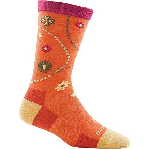 Women's Spring Garden Crew Light Cushion Hiking Socks
