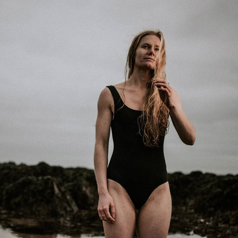 The Little Black Recycled Swimsuit