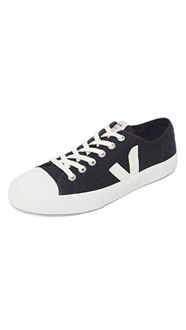 Men's Wata Black Pierre Canvas Sneakers