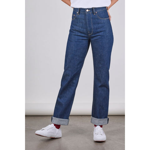 Women's E10 Classic Straight Leg Jean, 14.50oz Organic Denim
