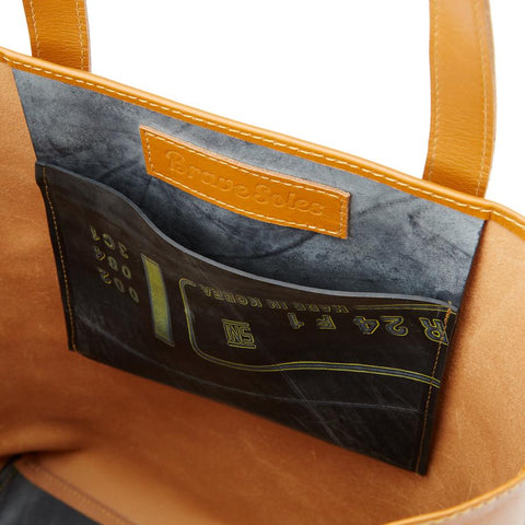 Florence Upcycled Leather Shoulder Bag