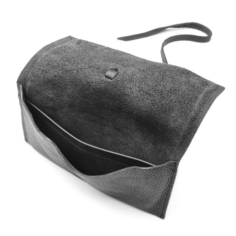 Sandra Wrap Around Leather Pouch