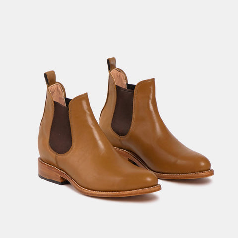 Manuel Men's Chelsea Boot, Cognac