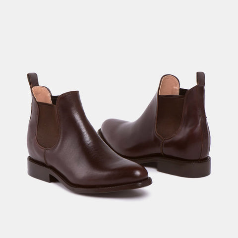 Maria Women's Chelsea Boot, Chocolate