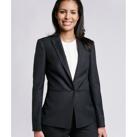 Geneva Luxe Fit Blazer, Black