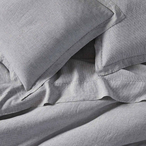 Organic Linen Chambray Pillowcases