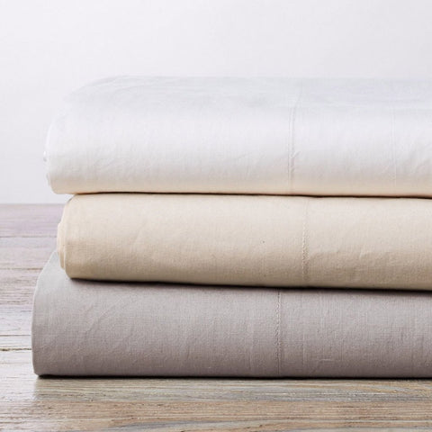 300 Thread Count Organic Percale Pillowcases