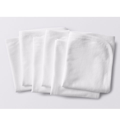 Organic Cotton Jersey Burp Cloths