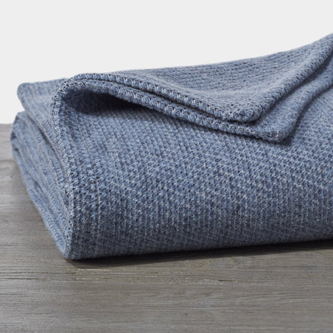 Sequoia Washable Organic Cotton and Wool Blanket