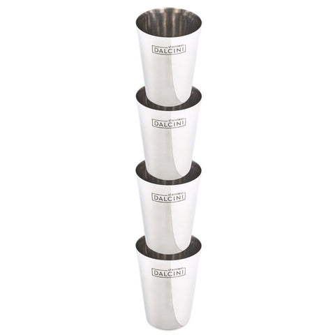 Stainless Steel Cups (300 mL) - DALCINI Stainless