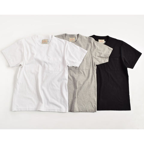 Three Pack Heavy Duty Tee with Pocket