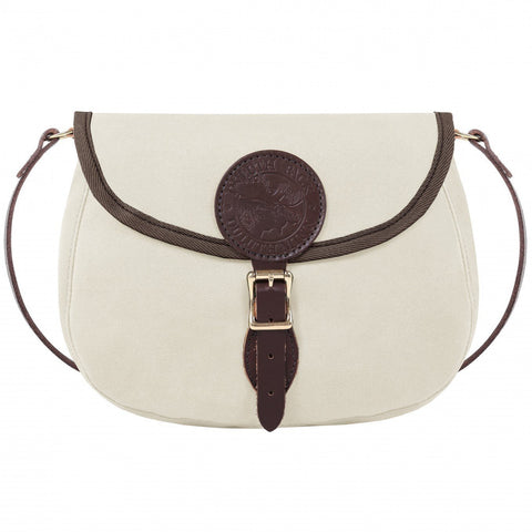 Medium Shell Canvas Purse