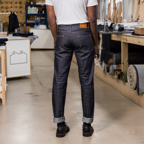 1e66f9846fe Blackhorse Lane Ateliers UK-Made Lifetime Men s E5 Relaxed Jeans