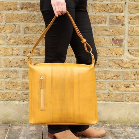 Reclaimed Fire Hose Tooley Tote Bag Mk II - BuyMeOnce Direct - BuyMeOnce UK