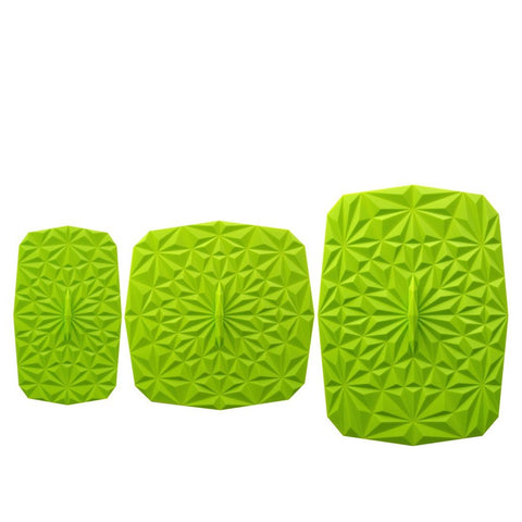 Rectangular Silicone Storage Lids, 3-Piece Set