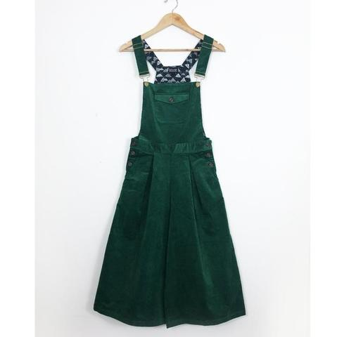 Ivy Green Corduroy Culotte Dungarees