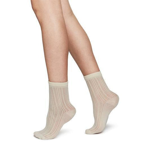 Klara Cable Knit Socks