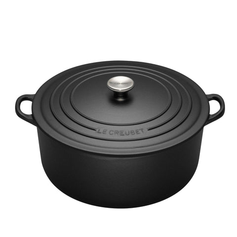 Black Cast Iron Pot