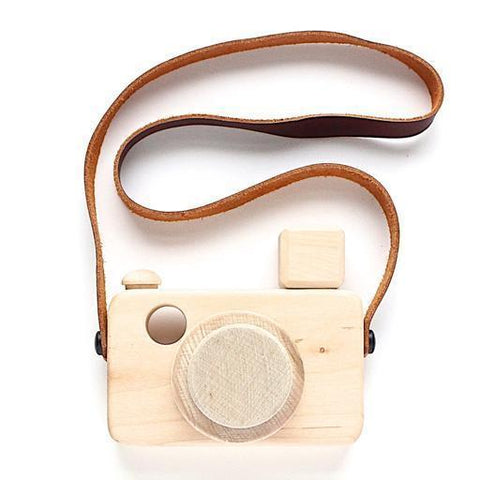 Flash Zoom Mali wooden camera